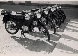 AÑOS 50 , ASTURIAS / TAPIA  , MOTOCICLISMO , MOTOCICLETA , MOTO , MOTORCYCLE , MOTORRAD - ANTIGUA FOTOGRAFIA ORIGINAL - Andere