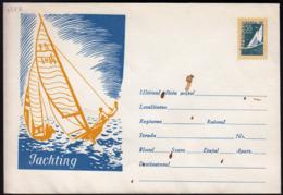 Romania / Jachting, Sailing / 55 Bani / Postal Stationery - Enteros Postales