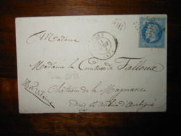 Enveloppe GC 3356 Segré Maine Et Loire - 1849-1876: Classic Period