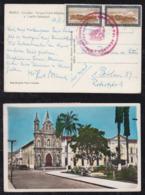 Ecuador 1960 Picture Airmail Postcard IBARRA To BERLIN Germany - Ecuador