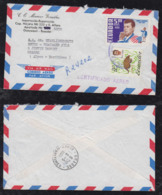 Ecuador 1965 Registered Airmail Cover KENNEDY Stamp Guayaquil To Grasse France - Ecuador