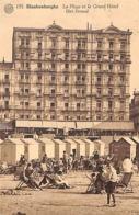 Blankenberghe - Blankenberge - La Plage Et Le Grand Hôtel Strand - Blankenberge
