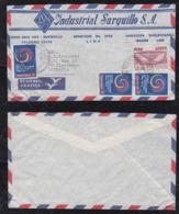 Peru 1965 Airmail Cover To ULM Germany Advertising - Pérou