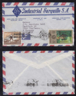 Peru 1970 Airmail Cover To ULM Germany Advertising - Pérou