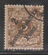 GERMAN EAST AFRICA Scott # 6 Used - German Stamp With Overprint - Colony: German East Africa