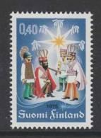 TIMBRE NEUF DE FINLANDE - NOËL 1975 N° Y&T 740 - Weihnachten