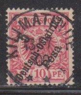 GERMAN EAST AFRICA Scott # 8 Used - German Stamp With Overprint - Kolonie: Duits Oost-Afrika