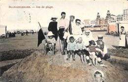 Blankenberghe - Blankenberge - Jeu De Plage (top Animation Colorisée 1908) - Blankenberge
