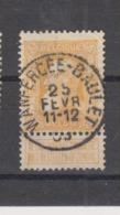 COB 79 Oblitération Centrale WANFERCEE-BAULET - 1905 Breiter Bart