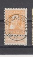 COB 79 Oblitération Centrale FLORENVILLE - 1905 Breiter Bart