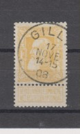 COB 79 Oblitération Centrale GILLY - 1905 Breiter Bart