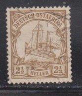 GERMAN EAST AFRICA Scott # 22 Used - Colony: German East Africa