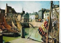 CPA HONFLEUR -bassin Lieutenance -quai Beaulieu - Honfleur