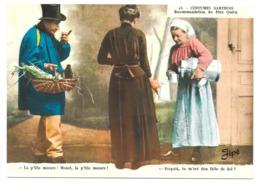 72 - COSTUMES SARTHOIS - Recommandation Du Père Quéru - éd. JIPE N° 23 - France