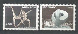 MONACO ANNEE 1993 N°1875 1876 NEUFS** NMH - Monaco