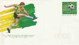 AUSTRALIA 1993 World Youth Soccer Championships: Pre-Paid Envelope MINT/UNUSED - Interi Postali