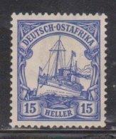 GERMAN EAST AFRICA Scott # 34 MH - Colony: German East Africa