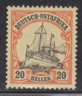 GERMAN EAST AFRICA Scott # 35 MH - Colony: German East Africa