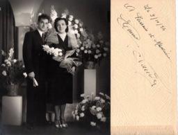 Mariage 1954 - Photo-capitole Lucien Lagneau Beausoleil Monte-Carlo Supérieur - Photos