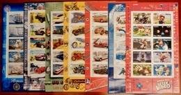 1999/2005  Feuillets  N° 25-30-38-51-63-76-91  Neufs**  SERIE COMPLETE - Neufs