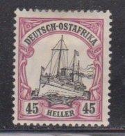 GERMAN EAST AFRICA Scott # 37 MH - Colony: German East Africa