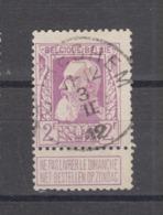 COB 80 Oblitération Centrale Type T2R CUREGHEM - 1905 Breiter Bart