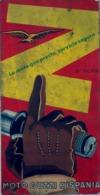 AÑOS 50 , MOTO GUZZI HISPANIA , MAGNÍFICO CUADRÍPTICO PUBLICITARIO DE LA MÍTICA MARCA DE MOTOCICLETAS - Andere
