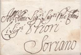 PRE425 - Lettera Con Testo Del 13 Maggio 1795 Da Roma A Soriano, In Franchigia. - Italy