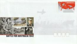 AUSTRALIA 2002 Battle For Australia: Pre-Paid Envelope MINT/UNUSED - Interi Postali