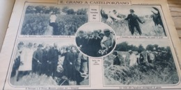 MATTINO ILLUSTRATO 1926 CASTELPORZIANO TENUTA DEL RE BORORE ABBASANTA SERRI NURAGHI SARDEGNA - Libri, Riviste, Fumetti