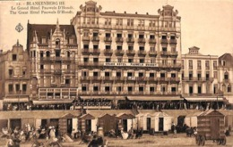 Blankenberghe - Blankenberge - Le Grand Hôtel Pauwels D'Hondt - Blankenberge