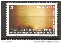 NICARAGUA - 1995 Guerra Del Golfo Nel 1991 Nuovo** MNH - Storia