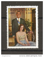 HONDURAS - 1992 Presidente CARLOS ROBERTO FLORES Nuovo** MNH - Celebrità