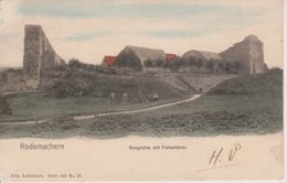 57 - RODEMACK - BURGRUINE MIT PULVERTURM - NELS SERIE 103 N° 27 - COULEURS - Autres Communes