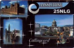 HOLANDA (PREPAGO). Aansluiting ,Famous European Buildings. 25NLG. 12.02. NL-PRE-PC2-0001. (016) - Nederland