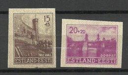 Estland Estonia 1941 Lot German Occupation Michel 4 - 5 U ** - Estland