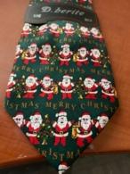 NEW Novelty Necktie Bellissima Santa - Vintage Clothes & Linen