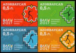 2017Azerbaijan 1196-99VBIV Islamic Solidarity Games - Aserbaidschan