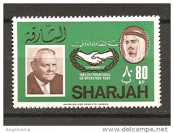 SHARJAH - 1966 L. ERHARD Cancelliere Tedesco Nuovo** MNH - Altri