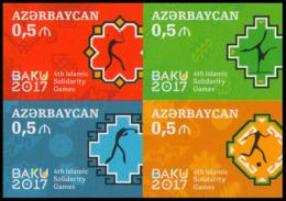 2017Azerbaijan 1196-99VBbIV Islamic Solidarity Games (edition 200) - Aserbaidschan