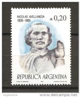 ARGENTINA - 1985 NICOLAS AVELLANEDA Presidente Argentino Nuovo** MNH - Altri