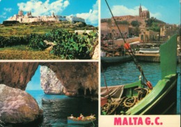 Malta - Malta G C - Mdina - Blue Grotto - Malta
