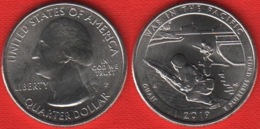 "USA Quarter (1/4 Dollar) 2019 P Mint ""War In The Pacific, Guam"" UNC - Émissions Fédérales"