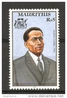 MAURITIUS - 2000 SIR SEEWOSAGUR RAMGOOLAM Primo Ministro Nuovo** MNH - Celebrità