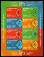 2017Azerbaijan 1196-99KLbIV Islamic Solidarity Games (edition 100) - Aserbaidschan