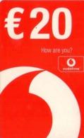 HOLANDA (PREPAGO). Vodafone Beltegoed (How Are You, Over Logo). 20€. 11.05. GSM-NL-1152A. (038) - Nederland