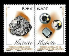 TAAF 2018 Mih. 993/94 Minerals. Ilmenite MNH ** - Nuevos