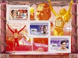 GUINEA 2007 - Olympics, Gymnastics, A. Dityatin - YT 2897-9; Mi 4584-6 - Gymnastics