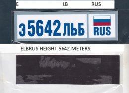 Fridge Magnet In Memory Of Mount Elbrus. - Tourism