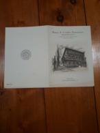 1950 OPUSCOLO PUBBLICITA' BANCA CREDITO FINANZIARIO MEDIOBANCA MILANO - Reclame